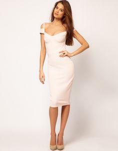 ASOS Sexy Pencil Dress With sweetheart neckline  $62.97