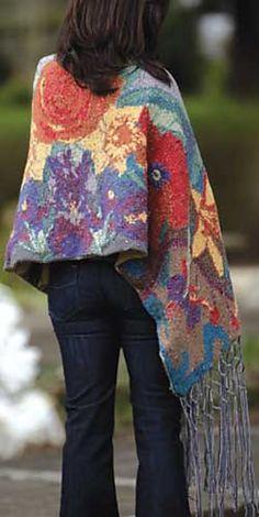 Wonderful wrap: Nonna's Garden by Kerin Dimeler-Laurence. Not for the faint of heart. :)