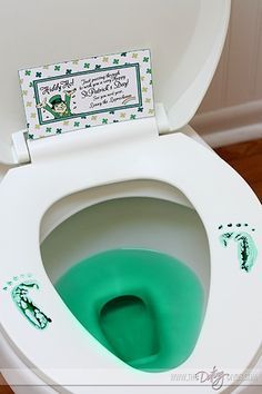 Leprechaun visit- this is hilarious! My kids will love it. #stpatricksday