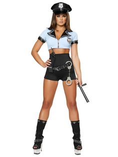 Sexy Police Woman Women's Costume at Wholesale Prices