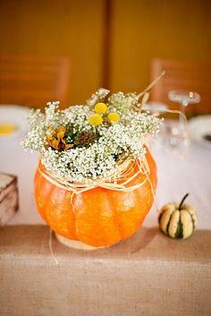 Prírodná jesenná výzdoba /Natural autumn wedding decoration