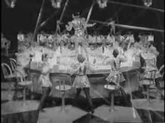 """From 1934 - Frances Williams and chorus sing """"Hollywood"""" ."""