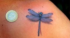 Ramblings of a Purple Apple — dragonfly tattoo