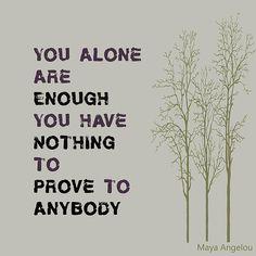 Sei einfach du selbst