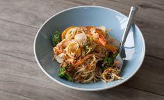 Le Taj Seafood with Angel Hair Pasta Epicure Recipes, Seafood Recipes, Soup Recipes, Healthy Recipes, Recipies, Italian Sausage Recipes, Whole Wheat Pasta, Angel Hair, Yummy Eats