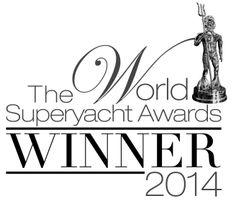 2014 World Superyacht Awards winner for the rebuilt superyacht category