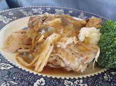 Easy Crock Pot Pork Tenderloin Roast from Food.com:   This is the most delicious and easy crock pot meal. It's great to just throw the ingredients into the crock pot in the morning, then I just serve with rice or egg noodles and a veggie and salad and my family loves it. It's nice for my family as there are just the three of us so we get two meals out of it.