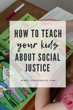 Little Justice Leaders: Social Justice Activities for Kids | Think or Blue