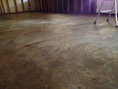 Remodel: Week 3 - cleaning old concrete floors