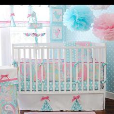 Baby girl bedding!!!