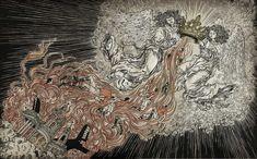 Yuko Shimizu Award winning Japanese illustrator based in New York City and instructor at School of Visual Arts. American Illustration, Illustration Art, Yuko Shimizu, School Of Visual Arts, Cool Artwork, Amazing Artwork, Business Design, Art World, Illustrators