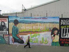 Da un muro di Belfast. #Palestina