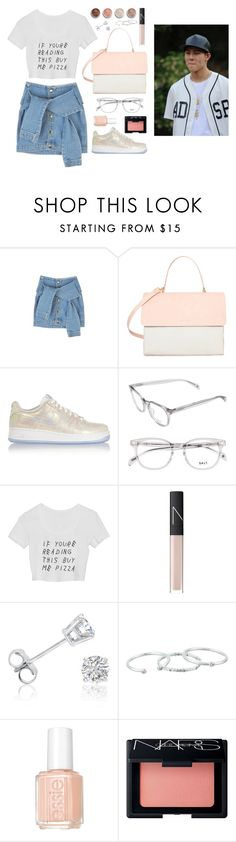 """Japan with Jooheon"" by got7outfits ❤ liked on Polyvore featuring Eddie, NIKE, NARS Cosmetics, Terre Mère, Amanda Rose Collection, Gorjana and Essie"