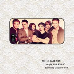 The Vampire Diaries iPhone 5 Case iPhone 4 Case by CaseAndCoat, $5.99