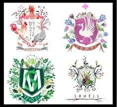 Seven on Sunday..... - The Enchanted Home I need to design a T. family crest, plus an R......