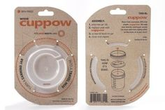 Amazon.com: Original Cuppow Wide - Drinking Lid for Wide Mouth Canning Jar!: Kitchen & Dining