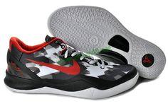 more photos cc8d7 75ee7 Kobe VIII Elite USA White Black Red 555035 101 Nike Shoes Cheap, Nike Kd  Shoes