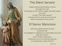 "I saw this statute in a beautiful church in southern Chihuahua. It reminded me of an article I once wrote about Joseph, ""The Silent Servant."""