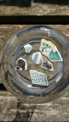 Sea Pottery found on Seaham Beach, collected June 2016.