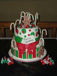 Gingerbread - Christmas theme cake-  Breakfast with Santa cake