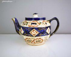Imari Vintage motif peint à la main poterie par LittlemixAntique
