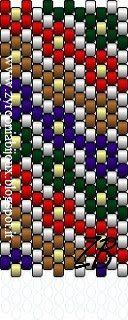 Zyrconia Bijoux: Beading tutorials and patterns: patterns peyote - 2 of 2