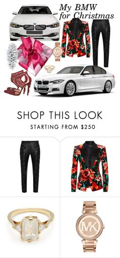"""Sin título #468"" by atmakaur ❤ liked on Polyvore featuring Yves Saint Laurent, BMW, Balmain, BEA, Michael Kors and Coach House"
