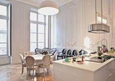 Appartement F_ Bordeaux FR by Antonio Rico _ architecte , via Behance