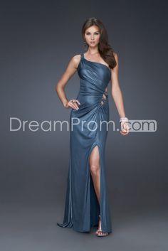 Pretty A-Line One Shouldr Floor-Length Evening/Prom Dresses