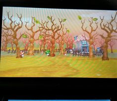 Bare forest ,  3DS game