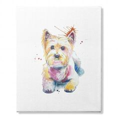 Awesome Tee WESTIE CANVAS T shirt