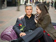 Ett besök hos George Clooney och de andra på Madame Tussauds