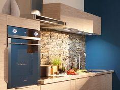 Credence Adhesive, Kitchen Remodel, Kitchen Island, Merlin, House, Furniture, Home Decor, Cap, Bricks