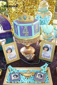 Incredible Princess Jasmine birthday party! See more party planning ideas at CatchMyParty.com!: