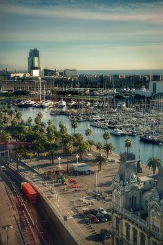 Puerto de Barcelona #Destinicocom www.destinico.com