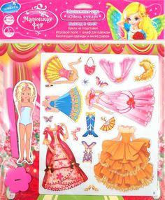магнитная игра Одень куклу - Yakira Chandrani - Álbumes web de Picasa