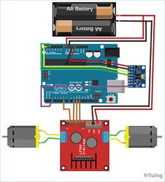 245 best electronic circuit diagrams images on pinterest circuit circuit diagram for self balancing robot using arduino ccuart Choice Image