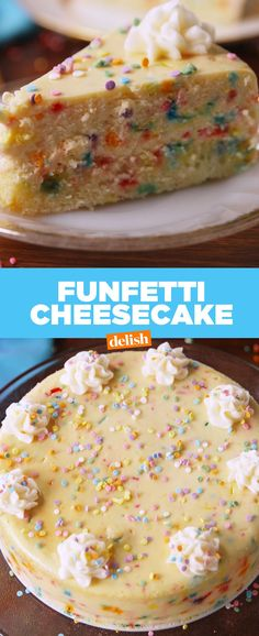 This Funfetti Cheesecake Gives Cheesecake Factory A Run For Its MoneyDelish