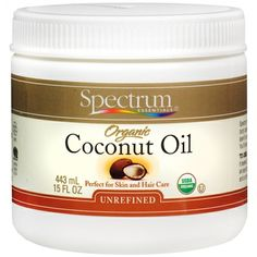 my favorite coconut oil. silky and melds into skin and hair with little-to-no grit. also great for oil pulling.