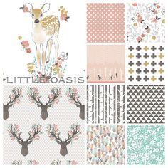 Little Oasis Custom Woodland Fawn Deer by LittleOasisNurseries