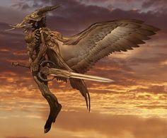 Arcangel Uriel by angelero.deviantart.com on @DeviantArt
