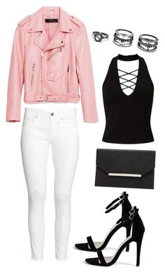 """""""Untitled #36"""" by missophiehopper on Polyvore featuring Piel Leather, H&M, Miss Selfridge, Forever 21, Boohoo and Lulu*s"""