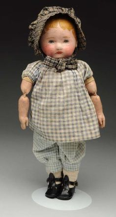 Lot # : 382 - Charming Chase Stockinet Doll.