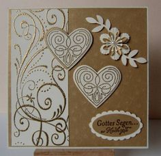 Wedding Card by MargitsSchatztruhe - Cards and Paper Crafts at Splitcoaststampers