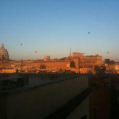 Roma - S.Pietro all'alba