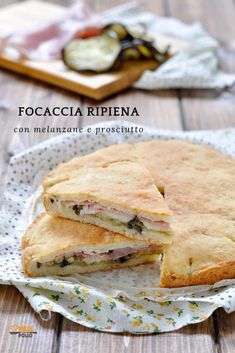 Bread Recipes, Chicken Recipes, Vegan Recipes, Cooking Recipes, Focaccia Pizza, Ricotta, Bread Bun, Delicious Sandwiches, Finger Foods