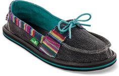 Women's Sanuk Abigail Shoes — Great pop of color.