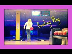Cosmic Bowling Vlog   InitiallyCameraShy - YouTube