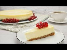 Verdens beste ostekake – Oppskrift med video Bacon, Cheesecake, Snacks, Desserts, Food, Tailgate Desserts, Appetizers, Deserts, Cheesecakes