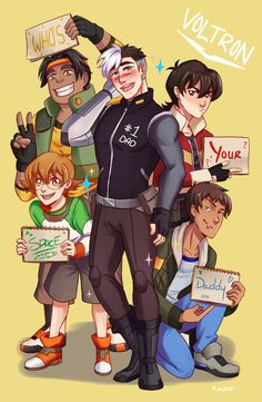 I made a voltron print for animethon! My voltron buttons are still up for preorder, you can get them here.